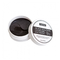 Гидрогелевые патчи с черным жемчугом Purederm Black Solution Hydrogel Eye Patch
