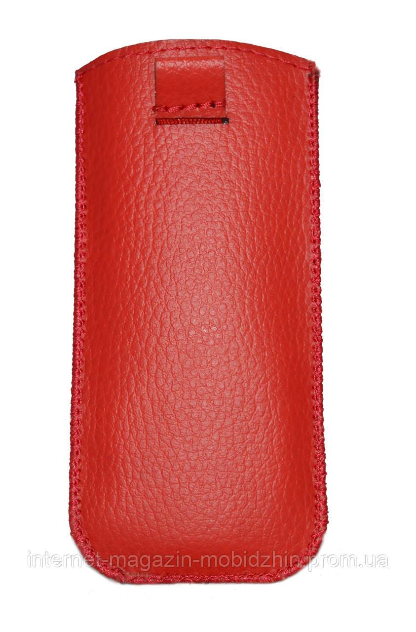 Чехол с вытяжной лентой  красный Nokia 215