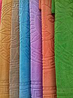 Простынь из микрофибры однотонная разные цвета
