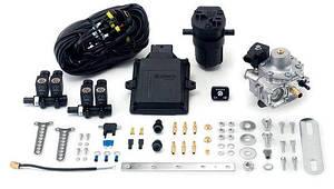 Комплект точечного впрыска LPG Lovato Smart P/T 4 цилиндра (с жиклерами и датчиком уровня топлива в к-те)