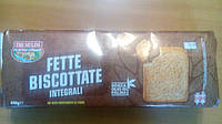 Хлебцы/сухари Tre Mulini Integrali без пальмового масла, 640 г, Италия, фото 1