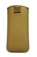 Чехол с вытяжной лентой  капучино Nokia 225( Нокиа 225, карманчик,чехол-книжка, бампер, кейс, защита телефона)