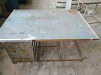Стол лабораторный металлический б/у
