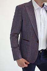 Мужской пиджак 100% лен Fratello, фото 3