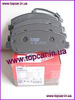 Тормозные колодки передние Renault Master III 2.3DCi 10- TRW GDB1910