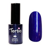 Гель-лак Tertio Темно-синий блестки 122 10 мл.