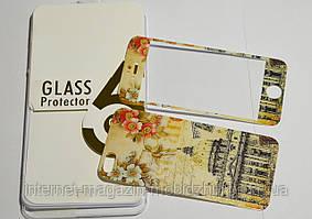 Защитное стекло Glass screen protector для Iphone 5G, двухстороннее