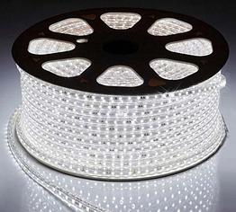 Светодиодная лента 5050-60 led 220V IP67 белый