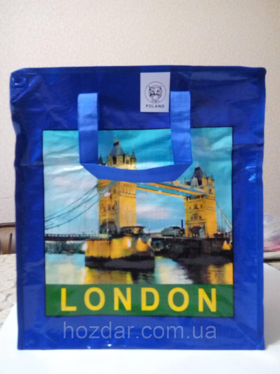 Хозяйственная сумка полипропиленовая №4 (Лондон)
