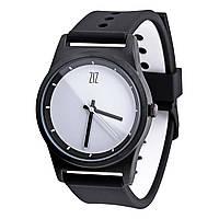 "Элитные черные часы ""White"" на подарок"