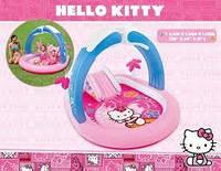 """Надувной водный игровой центр """"Hello Kitty"""" Intex 57137"""