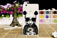 Чехол с рисунком для Xiaomi Redmi 3 панда