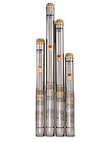 Насос для скважины Sprut 90QJD 112–0.55 + пульт управления
