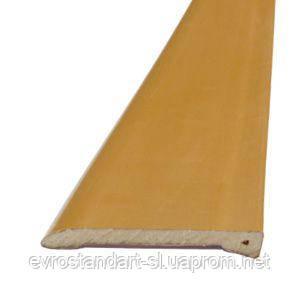 Наличник пластиковый Омис 60мм. 2,2 м. (светло-коричневый)