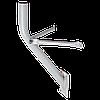 Антенный кронштейн стальной 23 см