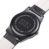 """Стильные элитный набор - часы""""White"""" с кожаным ремешком , фото 5"""
