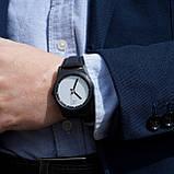 """Стильные элитный набор - часы""""White"""" с кожаным ремешком , фото 3"""