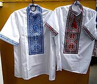 """Мужская рубашка с вышивкой """"Символ"""""""