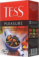 Чай TESS цейлонский черный байховый 90грм листовой с шиповником,яблоком,лепестками цветов