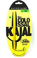 Каджал-карандаш водостойкий Maybelline Colossal 24Н черный 0.35 г