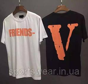 Футболка Friends Tee V Lone Белая мужская