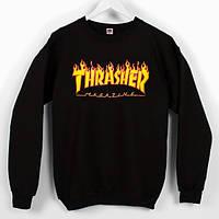 "Свитшот мужской  Thrasher Magazine """" В стиле Thrasher """""