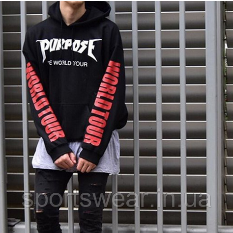 "Худи Purpose The World Tour Hoodie """" В стиле Purpose World Tour """""