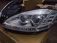 Передние фары Mercedes W221 DEPO (для установки на дорестайлинговые авто)