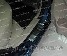 Накладки на пороги Hyundai Accent 3 (накладки порогов Хендай Акцент 3)