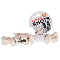 Игрушка Karlie-Flamingo Cotton Rope Squeaker для собак с пищалкой, S