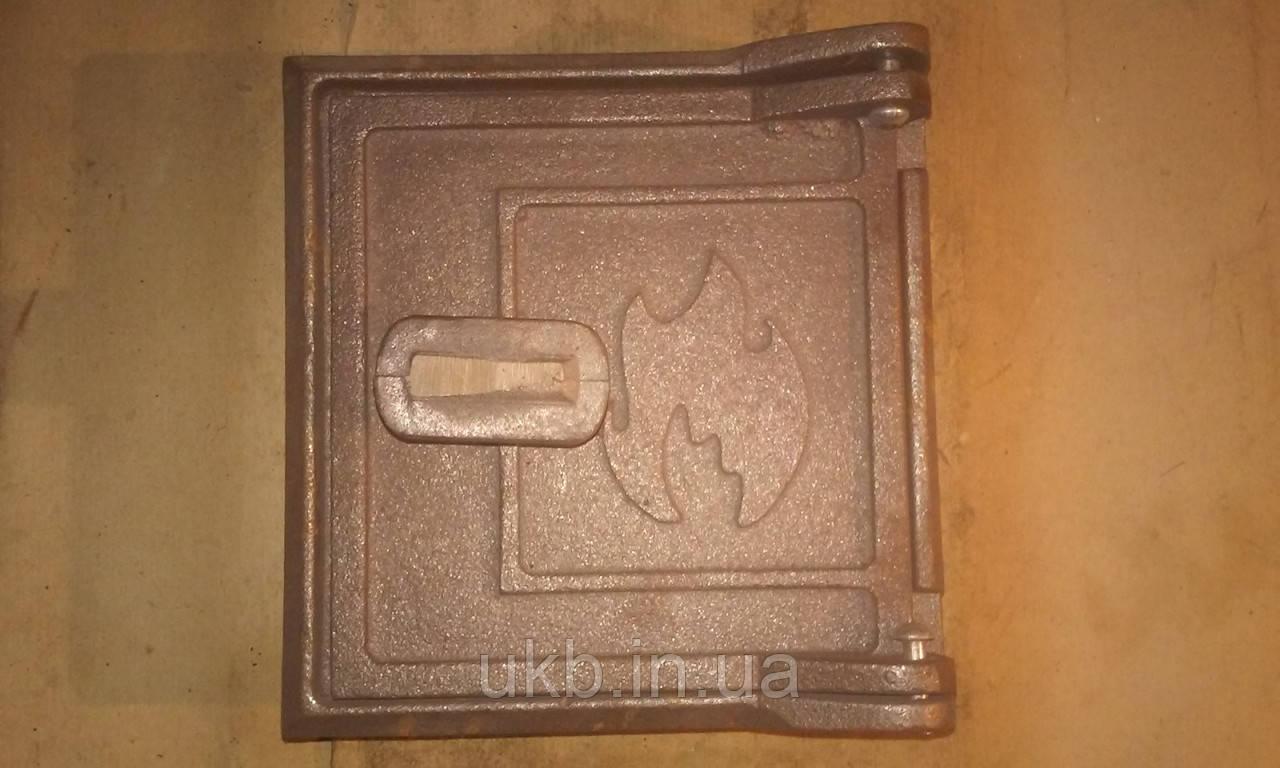 Дверца прочистная ОГОНЕК 155*150 мм