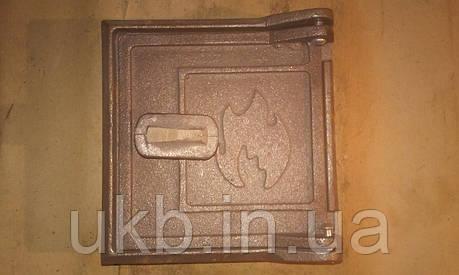 Дверца прочистная ОГОНЕК 155*150 мм, фото 2