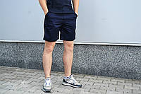Шорты летние, мужские молодежные, классические, синий