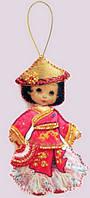 Набор для шитья куклы Кукла. Китай