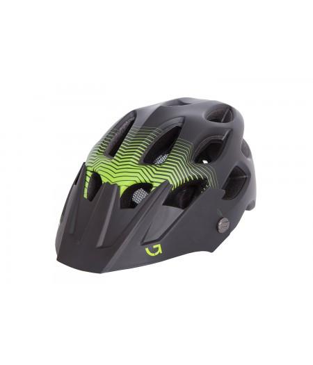Шлем Green Cycle Slash (темный зелено-салатовый матовый)