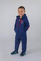 Утепленный спортивный костюм для мальчика Модный Карапуз 03-00612-0