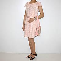 Платье  из хлопкового трикотажа для женщин Арт.415 Разм.46,48