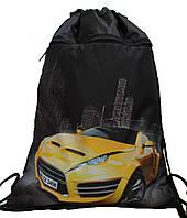Сумка для сменки Желтая Машина  для мальчика 1205-4