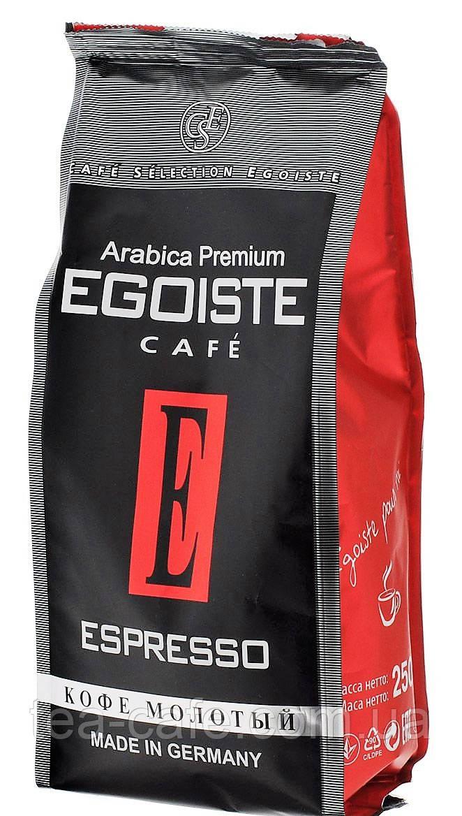 кофе молотый Egoiste Espresso