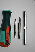 Отвертка с битами 6 предметов Sturm 1040-09-S2, фото 5