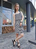 Женское летнее платье в полоску ТМ Dives