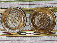 Тарілка різьбленна сувенірна дерев'яна ручної роботи в асортименті 29-31 см, фото 1