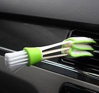 Многофункциональная автомобильная щетка для очистки салона.