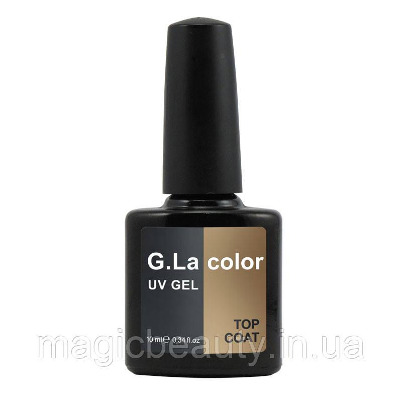 Топ для гель-лака G.La Color Top Coat 10 мл