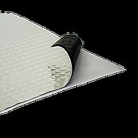 """Шумоизоляция """"VibroMax"""" вибропоглощающая 500*700*1.3мм самокл. (60мк)"""