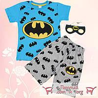 Костюм с шортами Потому что  я бэтмен от 4 до 8 лет (5347-2)