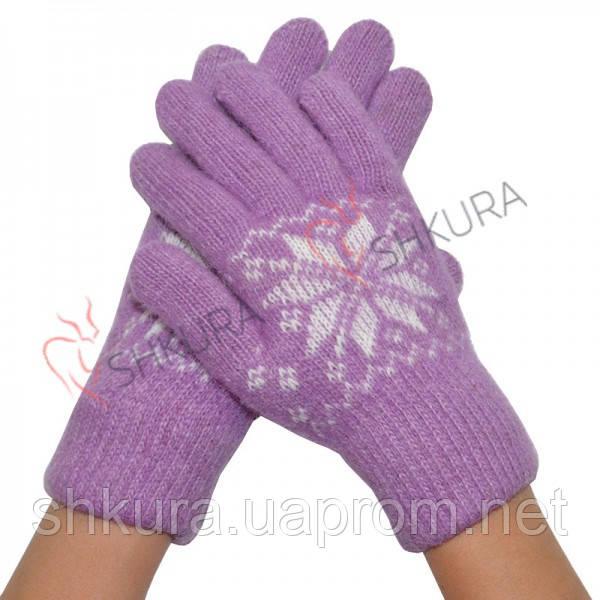 Женские зимние перчатки 09