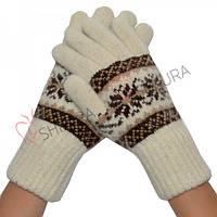 Женские перчатки, удлиненные 07