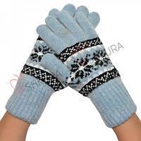 Женские перчатки, удлиненные 03