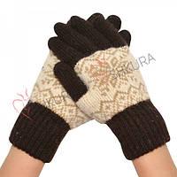 Женские зимние перчатки 10
